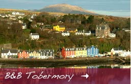 bed & breakfast accommodation in tobermory