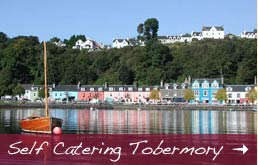 self catering holiday accommodation in tobermory